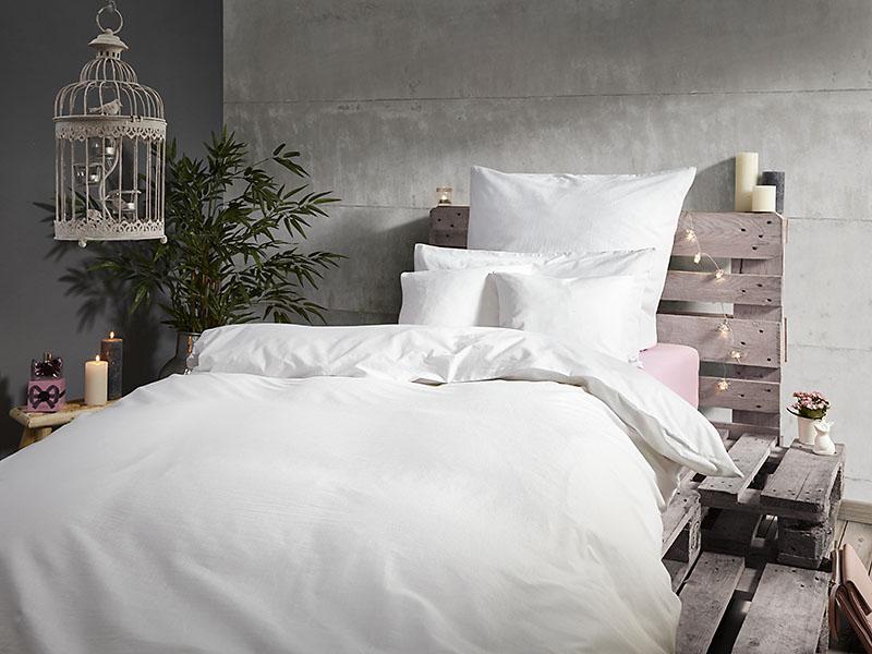 Bettwäsche Linon Garnituren Hotelverschluss