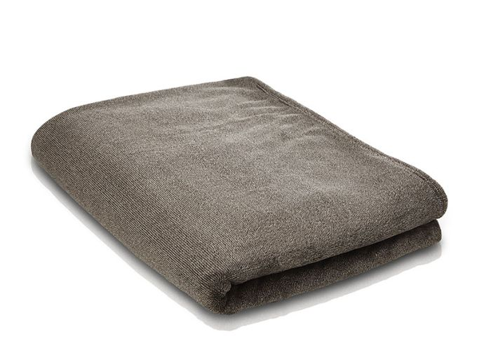 MELANGE Fleece-Decke